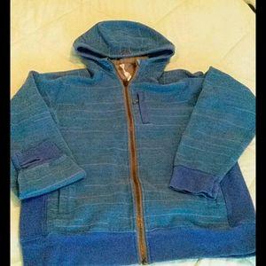 Lululemon Scuba hoodie Mens Large Blue full zip